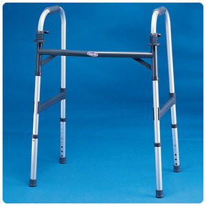 Invacare® Extra Wide Adult Paddle Walker/553172/인바케어 광폭성인용