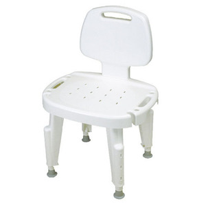 등받이목욕조절의자/Adjustable Shower Seat with Back, No Arms/F727142101