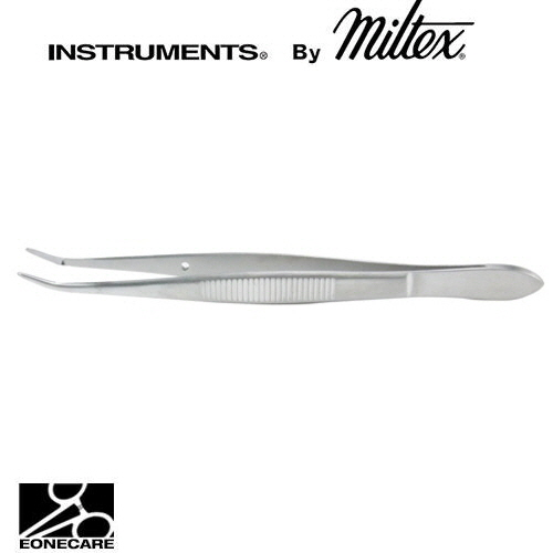 "[Miltex]밀텍스 BARRAQUER Cilia & Suture Forceps #18-1111 4-1/2""(11.4cm)5mm smooth platform"
