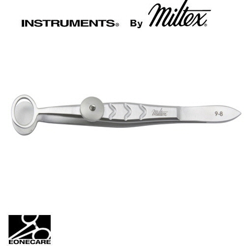 "[Miltex]밀텍스 BAIRD Chaiazion Forceps #18-1171 4""(10.2cm)oval,inside ring 8 x 11mm,small"