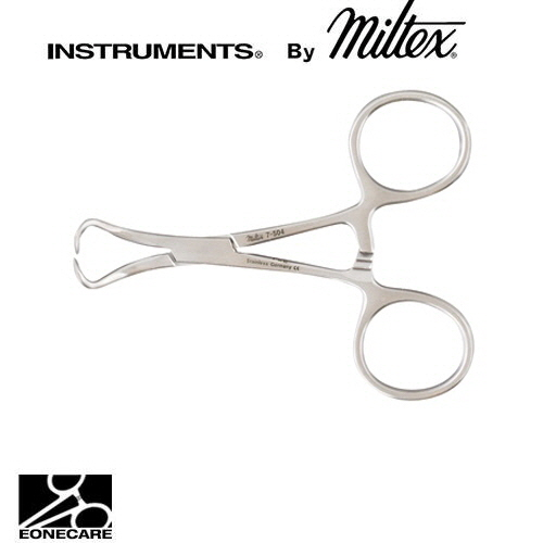 "[Miltex]밀텍스 BACKHAUS Towel Clamp #7-504 3-1/2""(8.9cm)"
