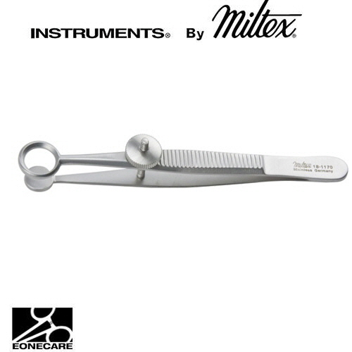"[Miltex]밀텍스 AYER Chalazion Forceps #18-1170 3-1/2""(8.9cm)round,inside ring diameter 8.5mm,solid blad 8mm diameter"